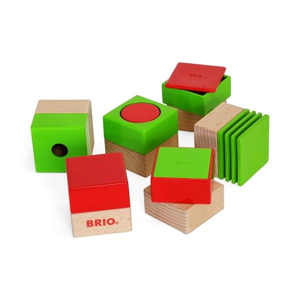 Sensory Blocks  Brio (30436) - klossar & byggleksaker
