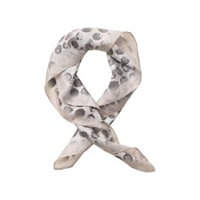Edblad Fingerprint Silk Scarf, Off White