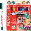Playcolor-kasvovärikynät, 6x5 g, värilajtelma