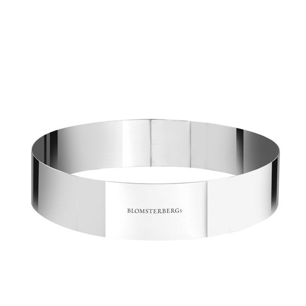 Blomsterbergs Kakring D  24 cm Rostfritt Stål silver (silver)