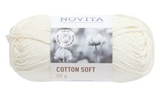 Novita Cotton Soft Bomullsgarn 50 g