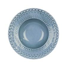 Dyp tallerken, Daisy, 21 cm, Dusty Blue, PotteryJo