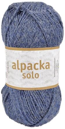 Alpacka Solo Ullgarn 50g Denim blå (29121)