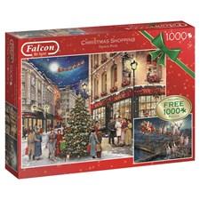 Christmas Shopping, Pussel 2x1000 bitar