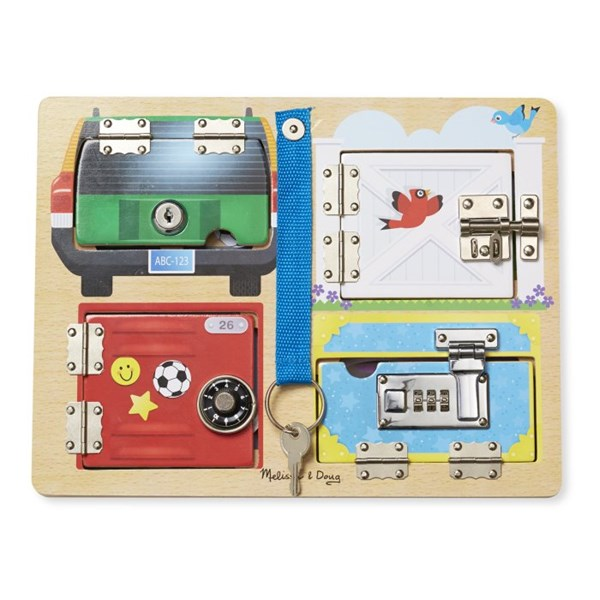 Lock & Latch Board, Melissa & Doug