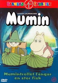Mumin - Mumintrollet fångar en stor fisk