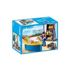 Vaktmästare med bås, Playmobil City Life (9457)