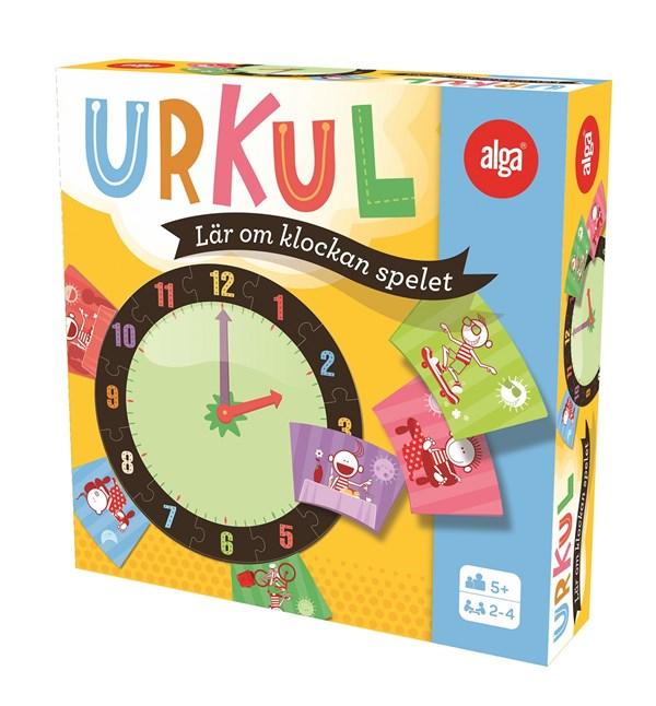 Urkul, Lär dig klockan-spelet, Alga (SE)
