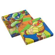 Ninja Turtles Half Shell Heroes, Servietter, 20 stk.