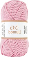 Järbo Eko bomull Garn Eko Bomull 50g Rosa (63207)