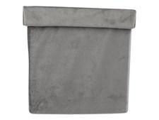 Form Living Förvaring fyrkant softis Polyester 20x20x19cm Grå