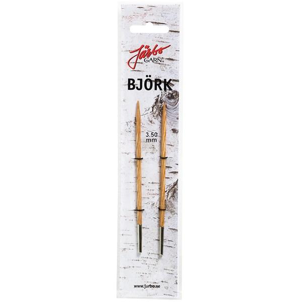 Strikkepinner med endestykke 4,5mm