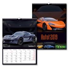 Seinäkalenteri 2019 Burde Autot