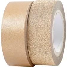 Design-teippi, lev. 15 mm, 2 rll, kupari