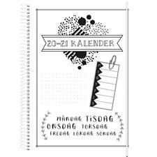 Burde Kalender 20-21 Doodle III