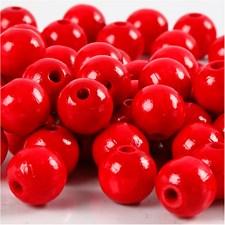 Treperler, dia. 12 mm, hullstr. 3 mm, 22 g, rød