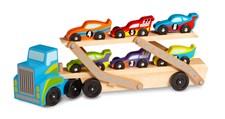Mega Race Car - Biltransportbil, Melissa & Doug