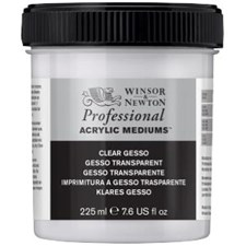 Professional Akryl Medium Clear Gesso Winsor & Newton 225 ml
