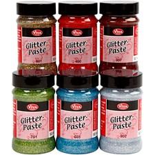 Glitter Pasta, 6x90 ml