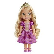 Toddler doll, Rapunzel, 35 cm, Disney Princess