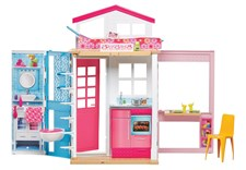 Barbies Tvåvåningshus, Barbie