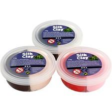 Silk Clay®, 6x7 g, ass. farger