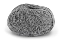 Knit At Home Chunky Alpaca Wool Ullmix 50 g Grå Melert 603