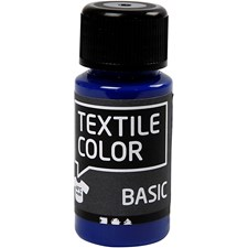 Textil Color, 50 ml, primær blå
