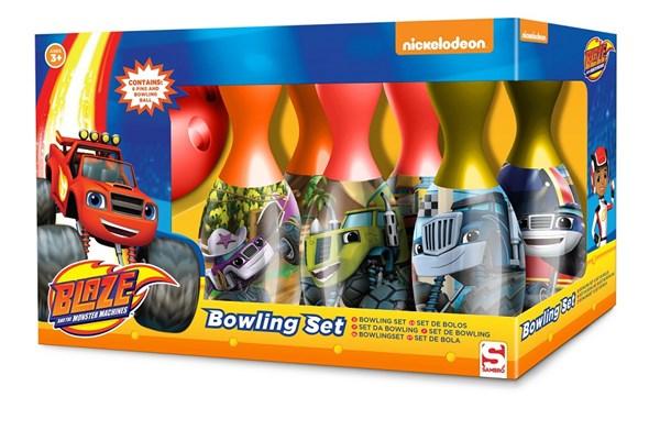 Bowling Set, Blaze Och Monstermaskinerna