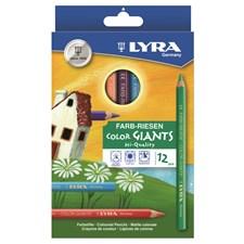 Color-Giants färgpennor lackade 12-pack Lyra