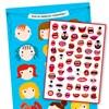 Belöningsposter med klistermärken, Tänder, Ejvor