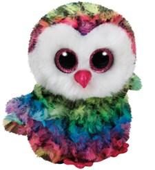 TY Owl, Flerfärgad, 15 cm