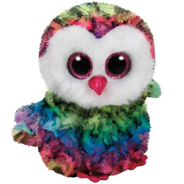 Kendte TY Owl, Multifarget ugle, 15 cm- kosedyr | Adlibris Bokhandel ZC-22