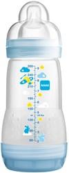 Nappflaska Anti Colic Bottle 260ml, Blå, MAM
