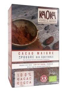 KAOKA Kakaopulver 250 g Ekologisk