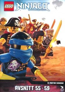 Lego Ninjago - Masters of Spinjitzu - Avsnitt 55-59