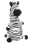 Pehmolelu Funny Jungle- Zebra, Teddykompaniet, 30cm