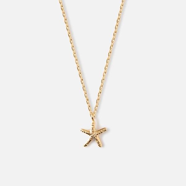 Gullkjede med sjøstjerne