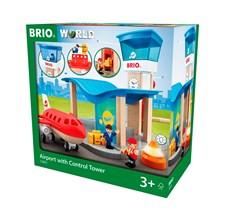 BRIO World - 33883 Flygplats med flygplan