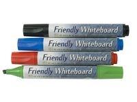 Whiteboardpennor Sned 4 Färger