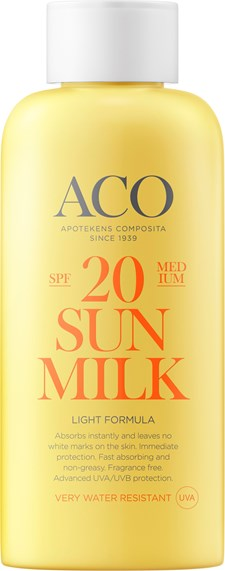 ACO Sun Lotion Spf 20, 200ml
