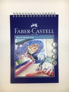 Mixed Medialehtiö Faber-Castell A4, 250 gr, 30 arkkia