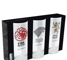 Game Of Thrones Glass 3-pack