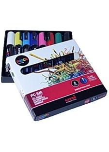 Marker UNI Posca 8 färger