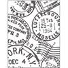 Pregesjablong, str. 11x14 cm, tykkelse 2 mm, stempler, 1stk.