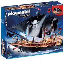 Piratskip, Playmobil Pirates (6678)