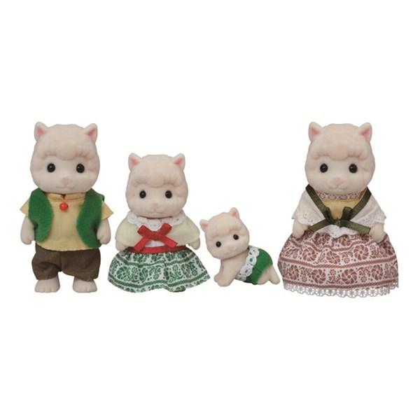Familjen Alpacka Ullig  Sylvanian Families - figurer & miniatyrer