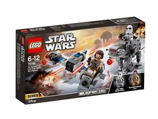 Ski Speeder vs. First Order Walker Microfighters, LEGO Star Wars (75195)