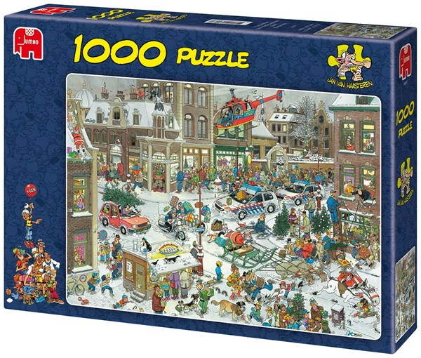 Jan van Haasteren, Christmas, puslespill, 1000 brikker