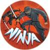 Ninja tallrikar, 8 st